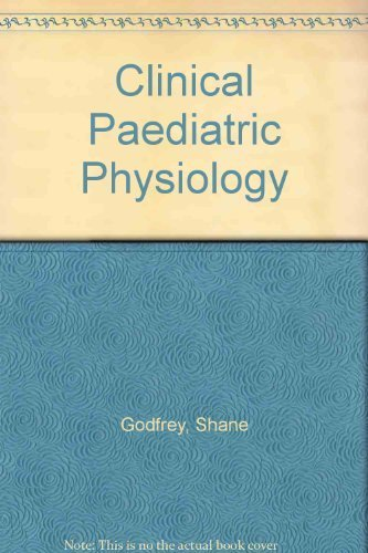 9780632002252: Clinical Paediatric Physiology