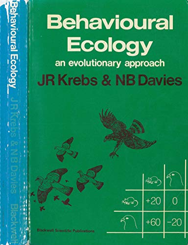 9780632002856: Behavioural Ecology: An Evolutionary Approach