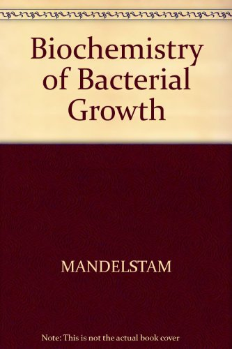 9780632003235: Biochemistry of Bacterial Growth