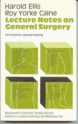 Lecture notes on general surgery (9780632004966) by Ellis, Harold
