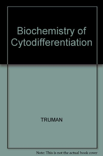 9780632005512: Biochemistry of Cytodifferentiation