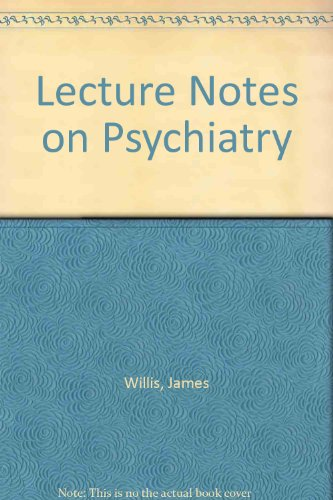9780632005710: Lecture Notes on Psychiatry