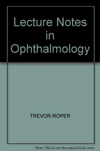 9780632006427: Lecture Notes on Opthalmology