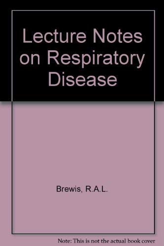 9780632006519: Lecture Notes on Respiratory Disease