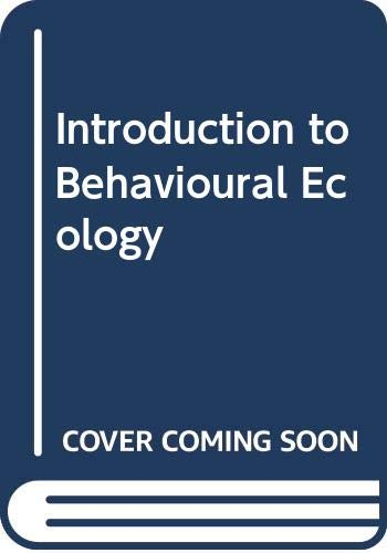 9780632006663: Introduction to Behavioural Ecology