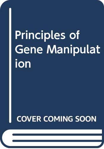 9780632008568: Principles of Gene Manipulation (Studies in microbiology)