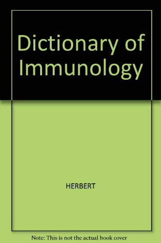 9780632009848: Dictionary of Immunology