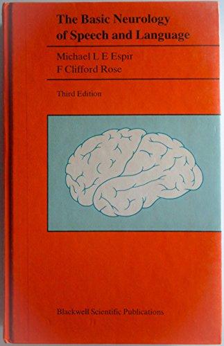 9780632010684: Basic Neurology of Speech and Language