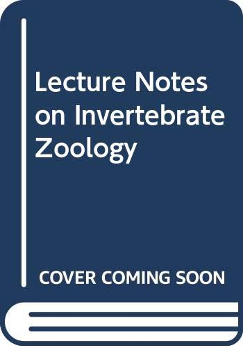 9780632014613: Lecture Notes on Invertebrate Zoology
