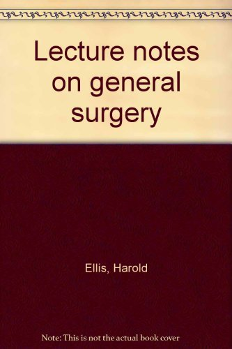 9780632014903: Lecture notes on general surgery ([The Lecture notes series])