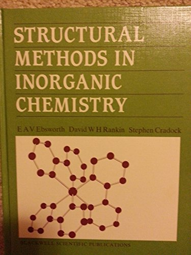 9780632015924: Structural Methods in Inorganic Chemistry