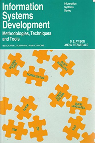 Information Systems Development : Methodologies, Techniques and: G. Fitzgerald; D.