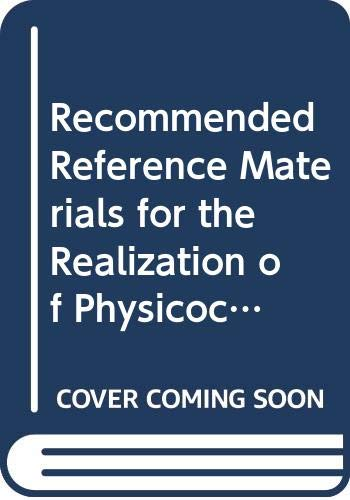 Recommended Reference Materials for the Realization of