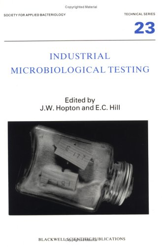 9780632017935: Industrial Microbiological Testing (Soc Applied Bacteriology)