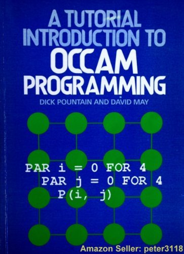 9780632018475: Tutorial Introduction to Occam Programming
