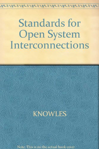 9780632018680: Standards for Open System Interconnections
