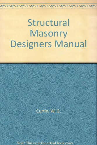 9780632018888: Structural Masonry Designers Manual