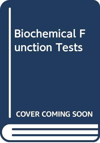 9780632020232: Biochemical Function Tests