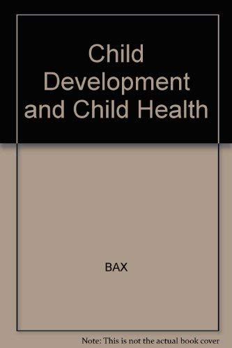 9780632020485: Child Development and Child Health: The Preschool Years