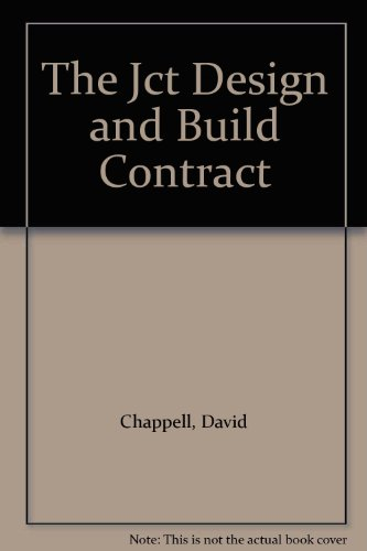 9780632020812: The Jct Design and Build Contract