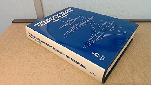 9780632021215: Flying Qualities and Flight Testing of the Aeroplane