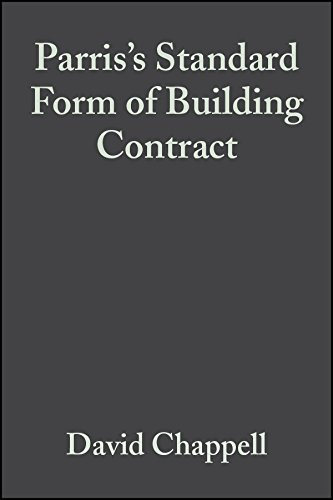 Standard Form Of Building Contract Jct 80 Hardback By David