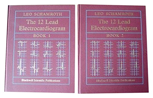 9780632022038: The 12 Lead Electrocardiogram (Books 1 and 2)