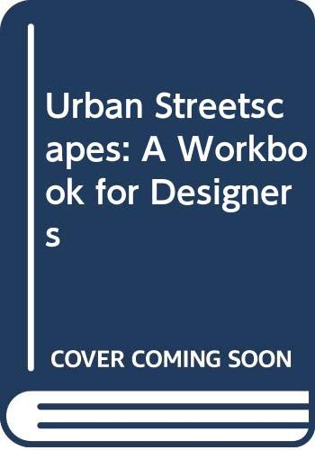 9780632023233: Urban Streetscapes: A Workbook for Designers