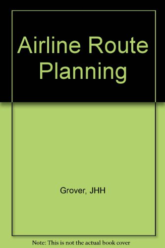 9780632023240: Airline Route Planning