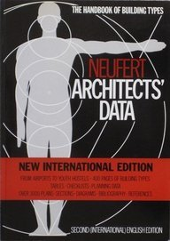 9780632023394: Neufert Architects' Data: Second International Edition