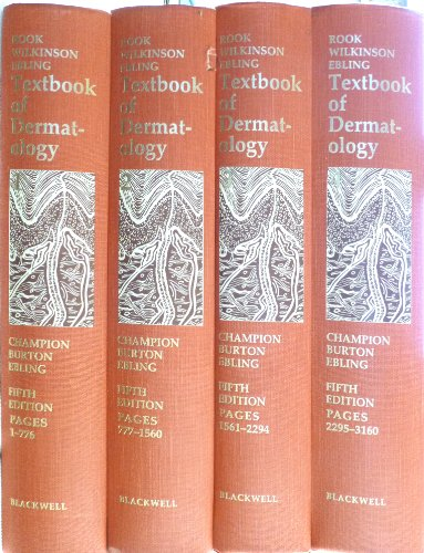 9780632023967: Textbook of Dermatology. Fifth Edition. IN FOUR VOLUMES