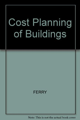 9780632024032: Cost Planning of Buildings