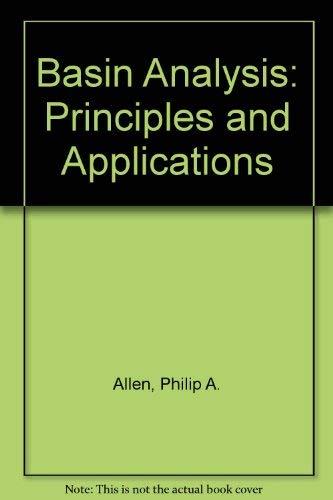 9780632024230: Basin Analysis: Principles and Applications