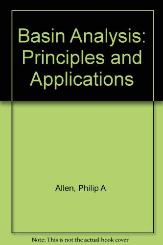 9780632024230: Basin Analysis: Principles and Applications