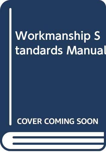 9780632025541: Workmanship Standards Manual
