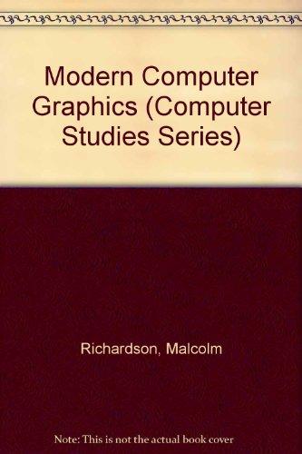 9780632026036: Modern Computer Graphics (Computer Studies Series)