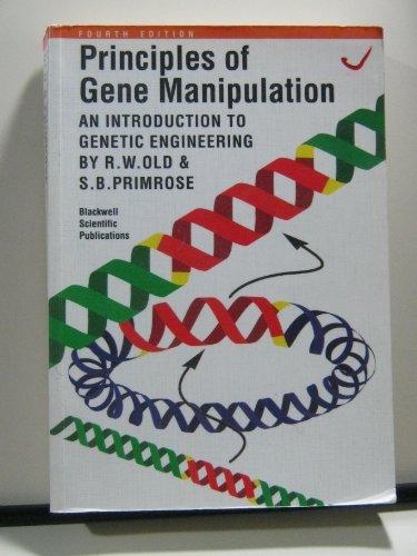 9780632026081: Principles of Gene Manipulation