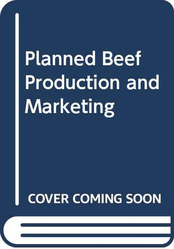 9780632026111: Planned Beef Production and Marketing