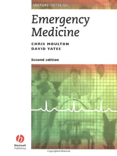 9780632027668: Lecture Notes on Emergency Medicine