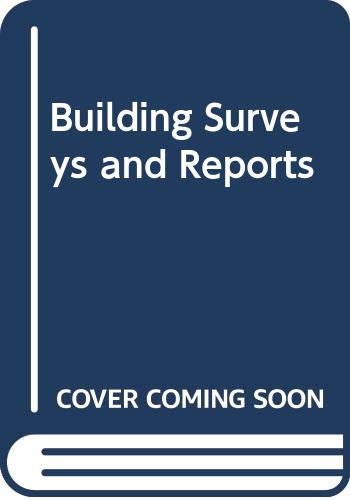 9780632028139: Building Surveys and Reports