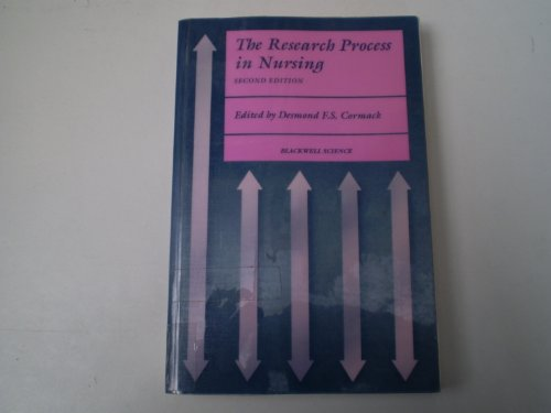 9780632028917: The Research Process in Nursing