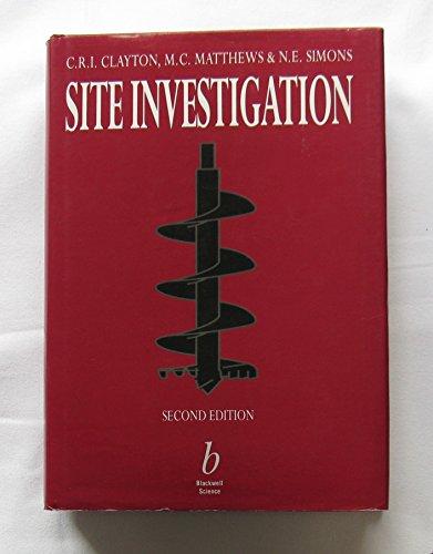 9780632029082: Site Investigation