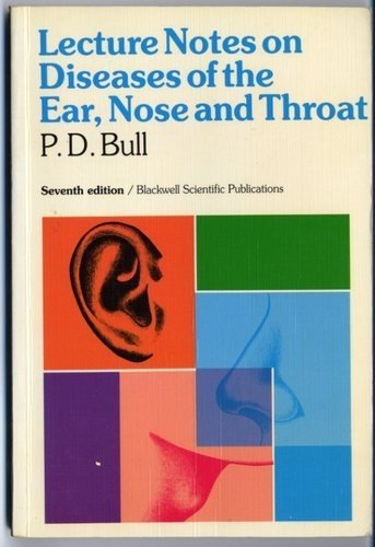 9780632029136: Lecture Notes on Diseases of the Ear, Nose and Throat