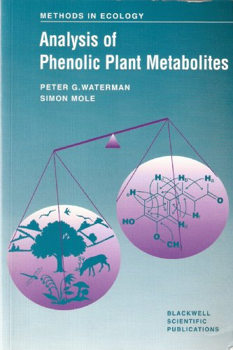 9780632029693: Analysis of Phenolic Plant Metabolites (Ecological Methods and Concepts)