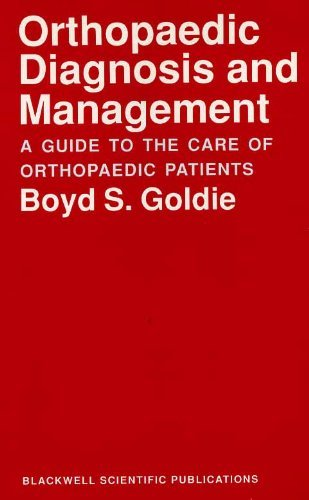 9780632030439: Orthopedic Diagnosis and Management: A Guide to the Care of Orthopedic Patients