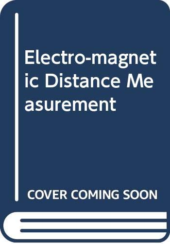 9780632031221: Electromagnetic Distance Measurement