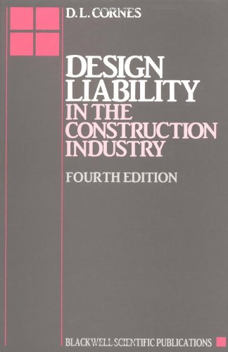 9780632032617: Design Liability in the Construction Industry