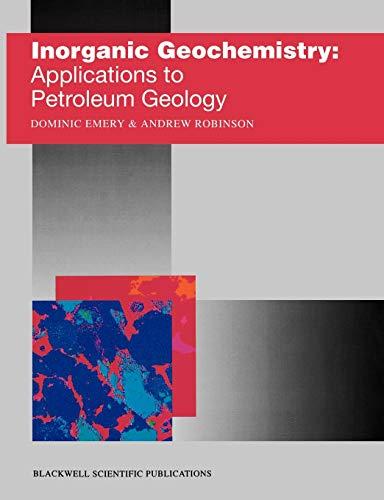 9780632034338: Inorganic Geochemistry: Applications to Petroleum Geology