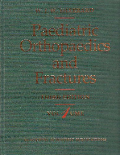 9780632034574: Paediatric Orthopaedics and Fractures (Two-Volume Set)