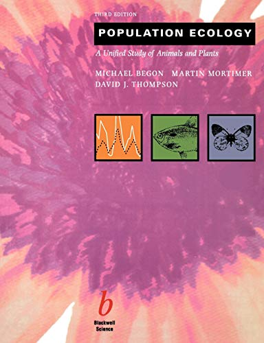 9780632034789: Population Ecology: A Unified Study of Animals and Plants